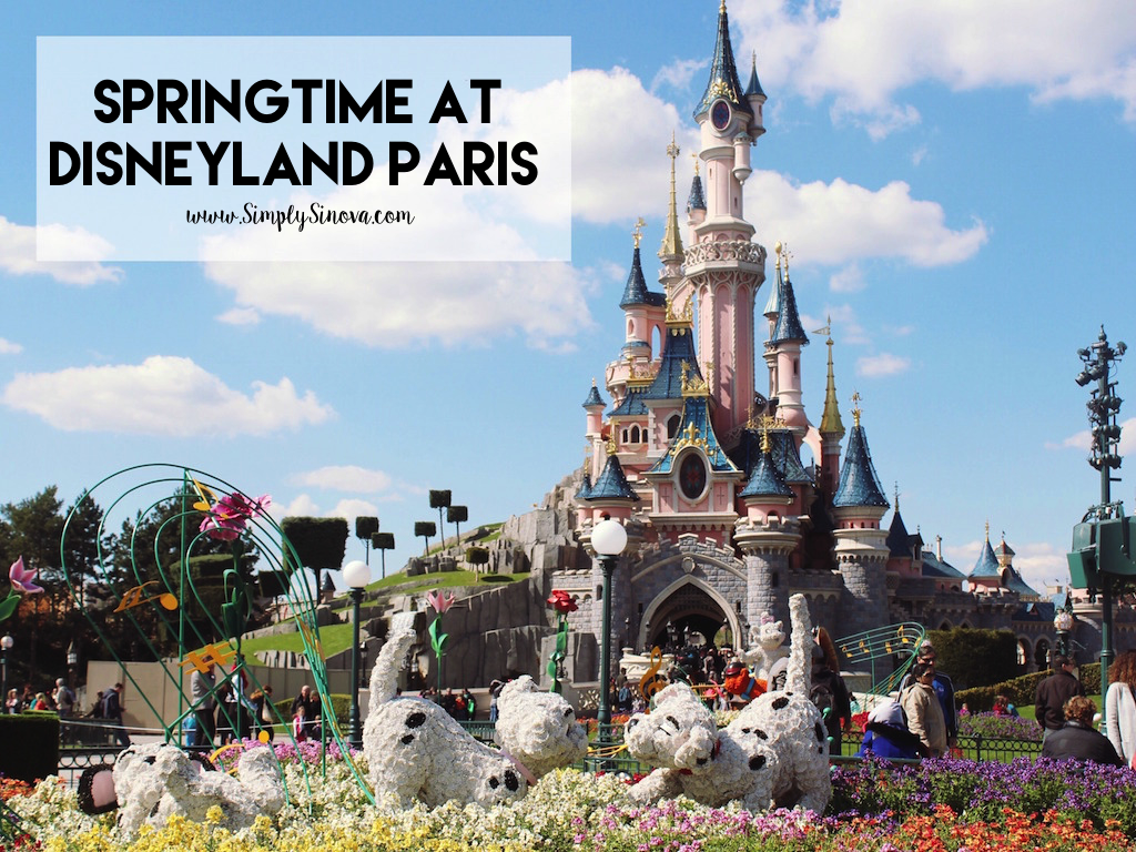 Disneyland Paris during Springtime