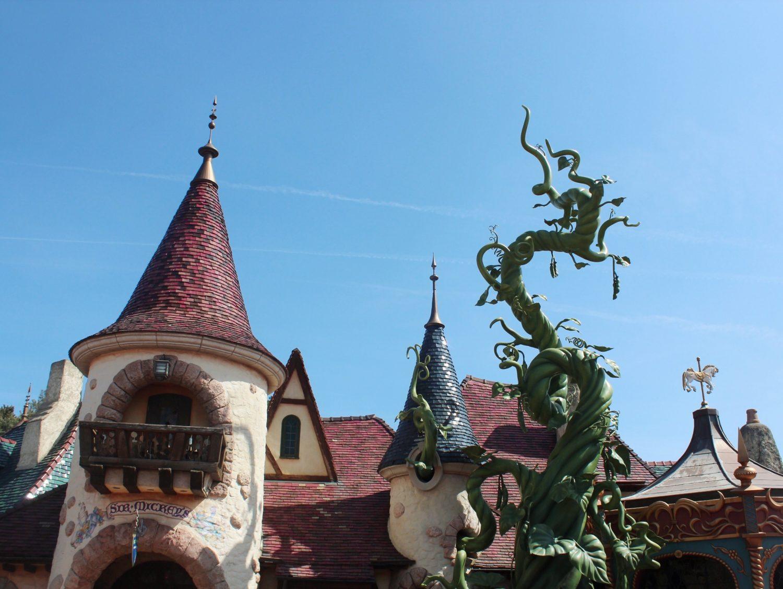 Disneyland Paris Beanstalk