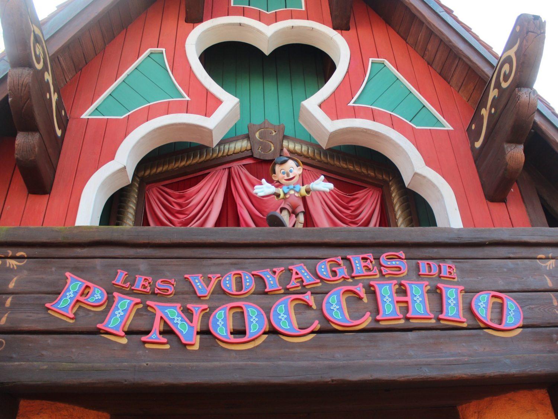 Disneyland Paris Pinocchio