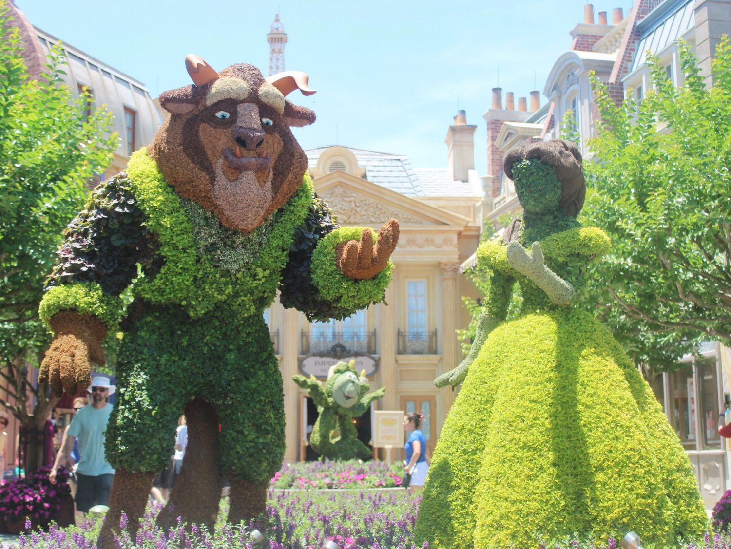 Epcot International Flower and Garden Festival Beauty and the Beast