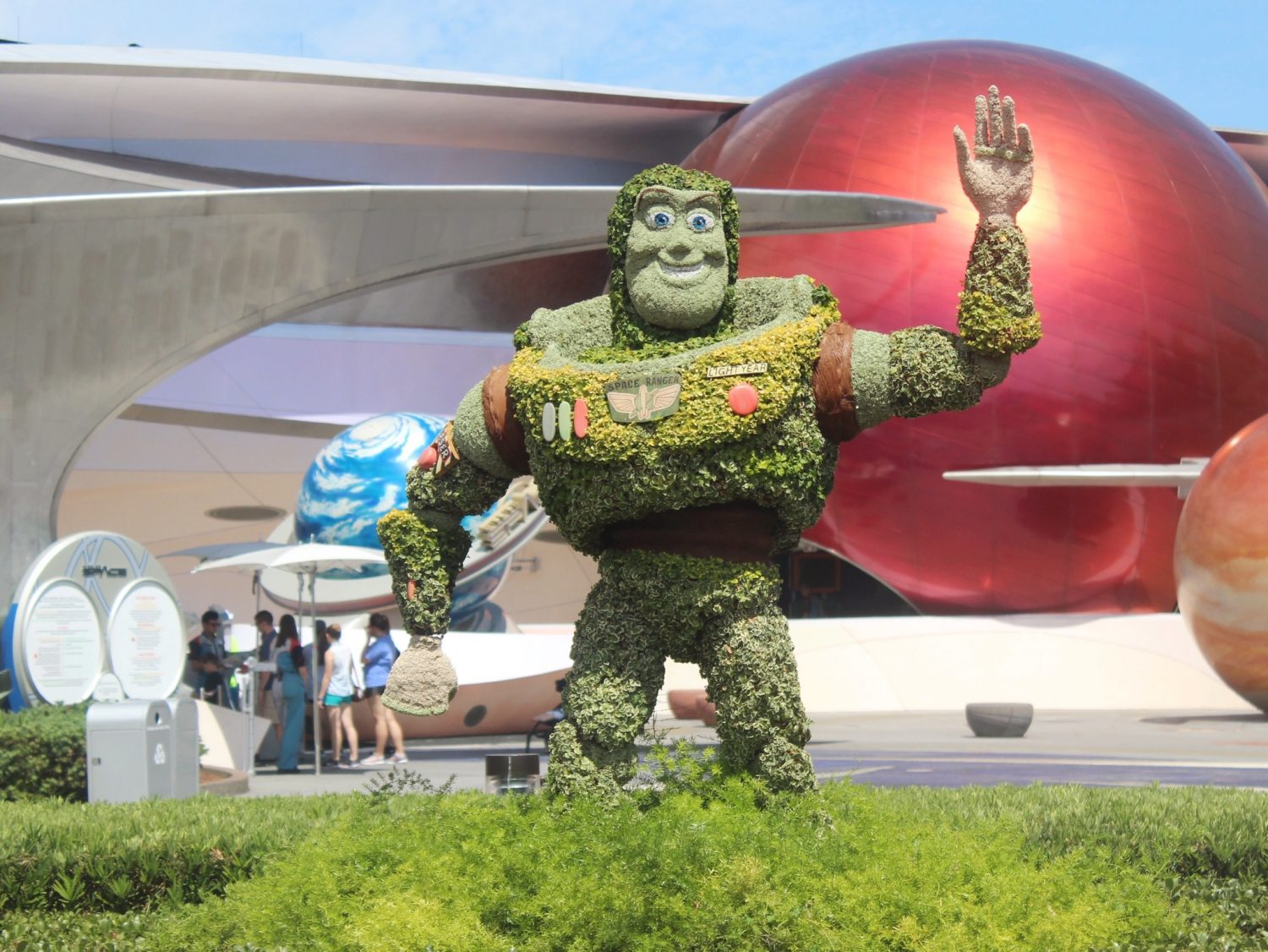 Epcot International Flower and Garden Festival Buzz Lightyear