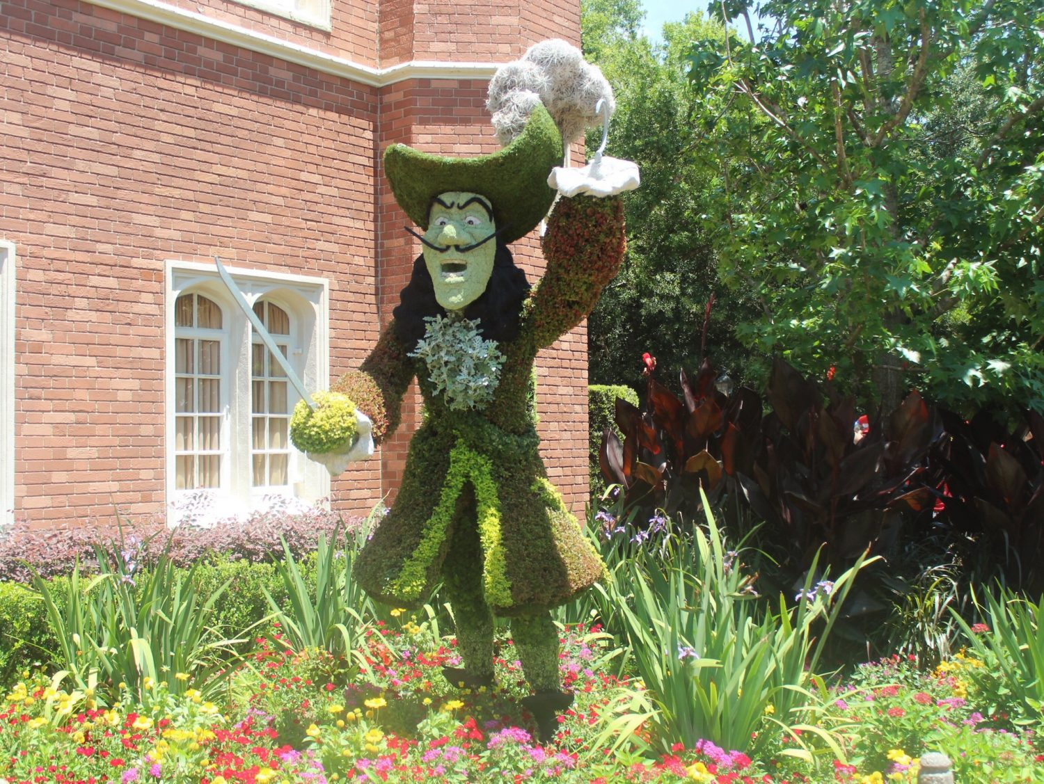 Epcot International Flower and Garden Festival Captain Hook