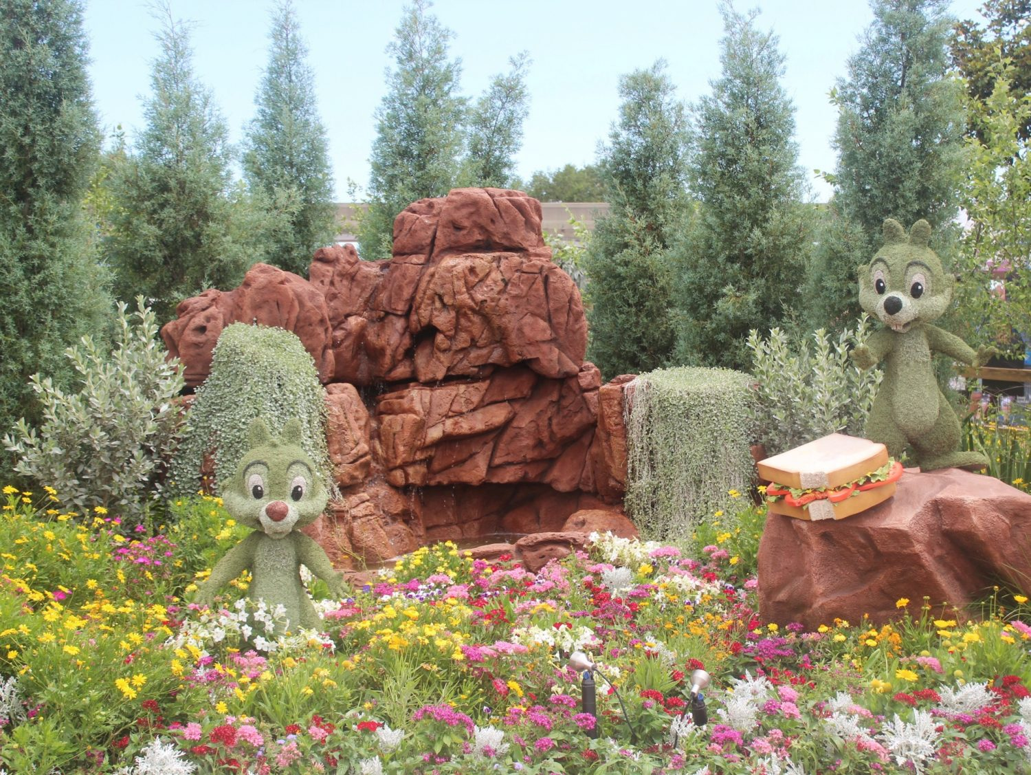 Epcot International Flower and Garden Festival Chip 'n Dale
