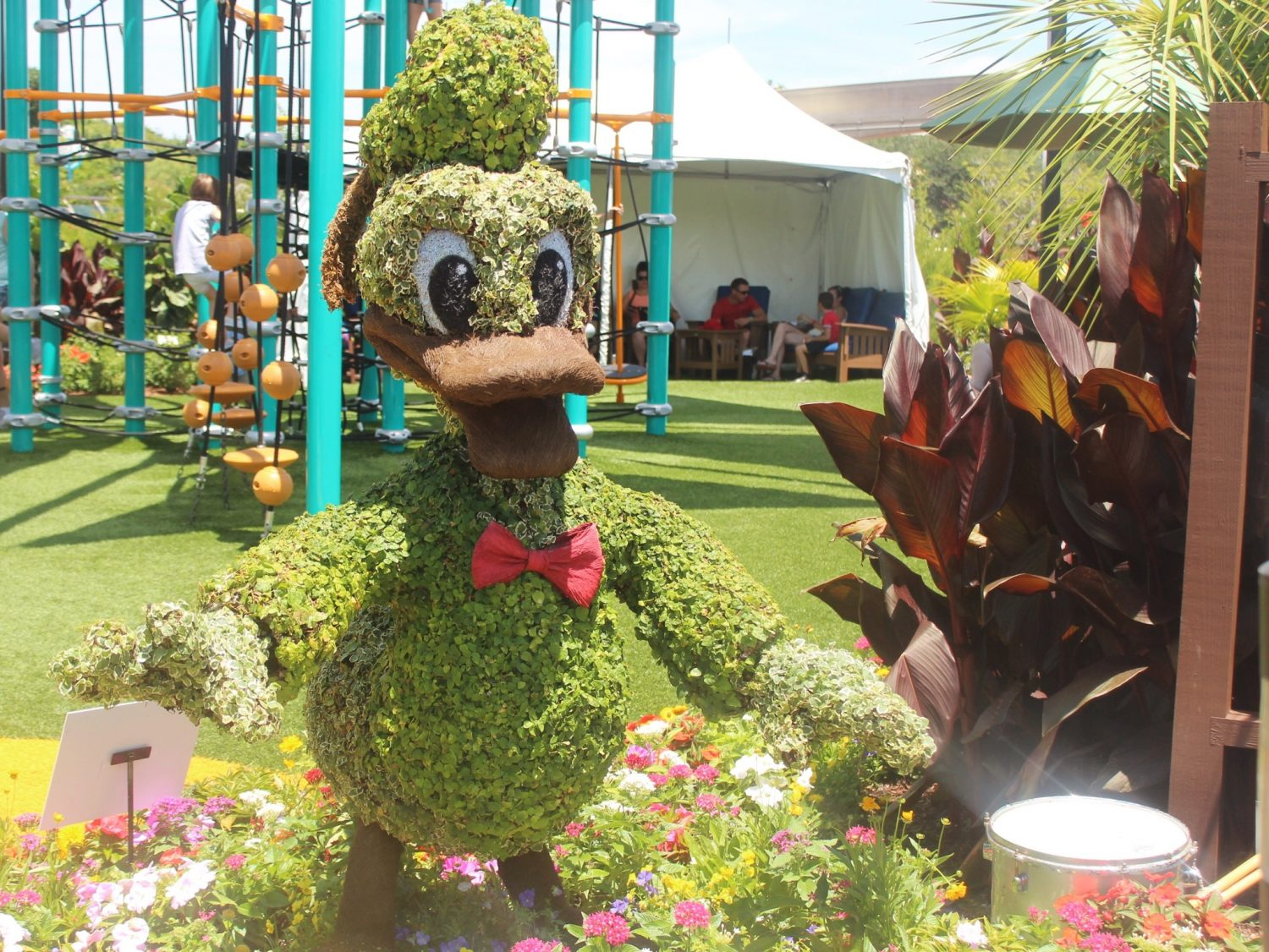 Epcot International Flower and Garden Festival Donald