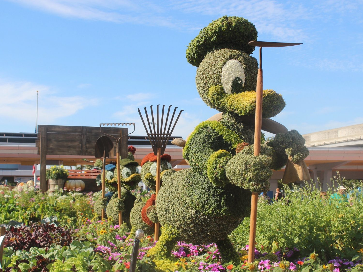 Epcot International Flower and Garden Festival Donald Duck