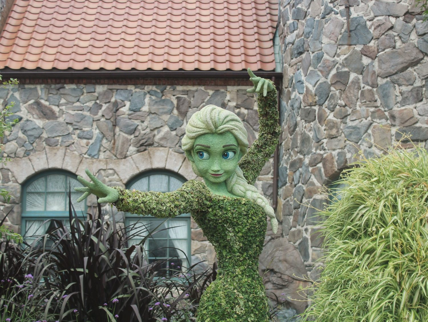 Epcot International Flower and Garden Festival Elsa