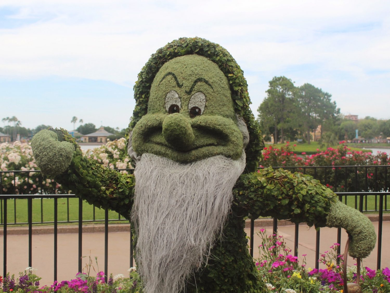 Epcot International Flower and Garden Festival Grumpy