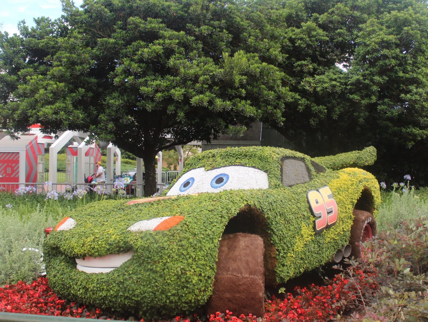 Epcot International Flower and Garden Festival Lightening McQueen