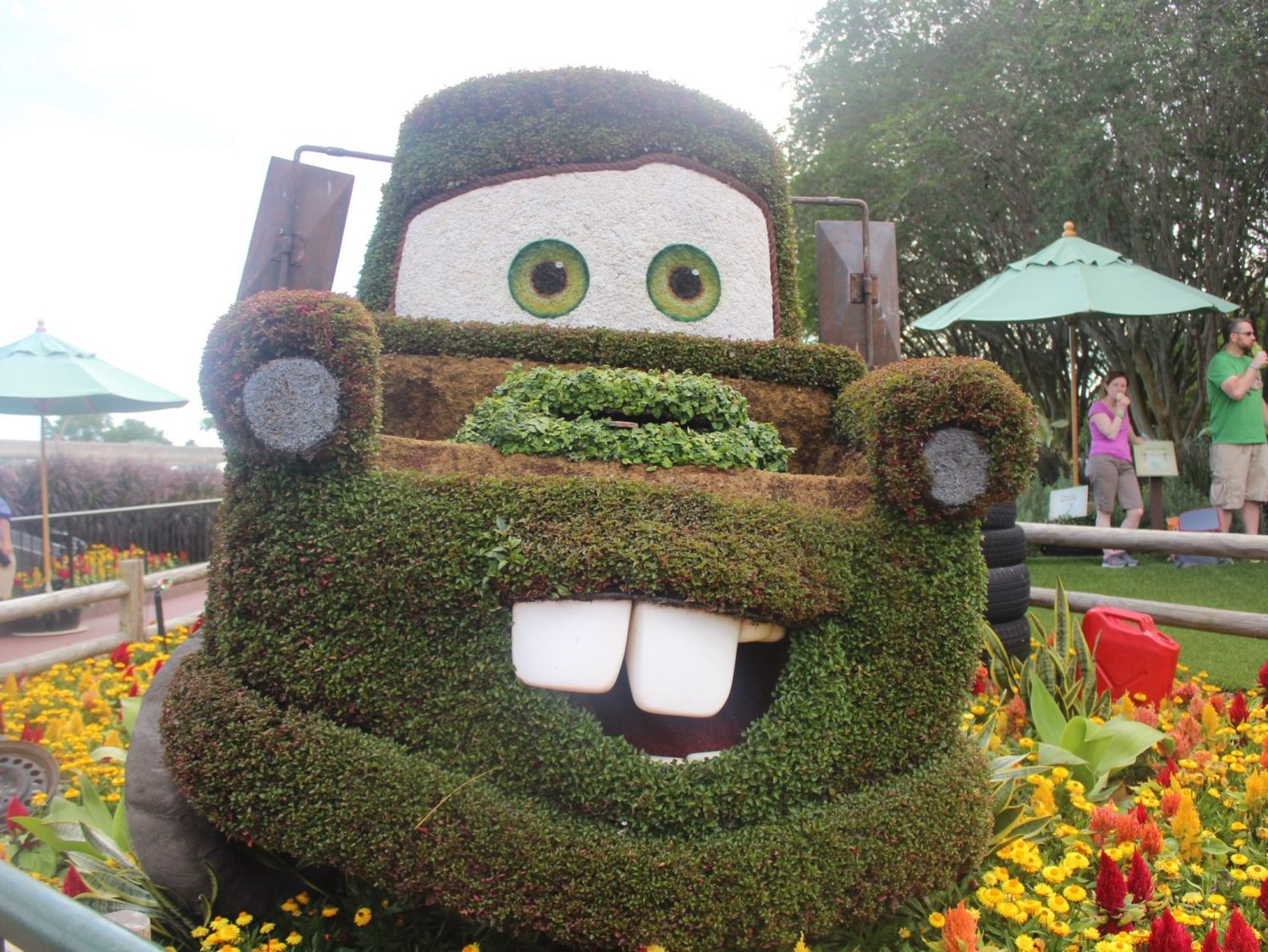 Epcot International Flower and Garden Festival Mater