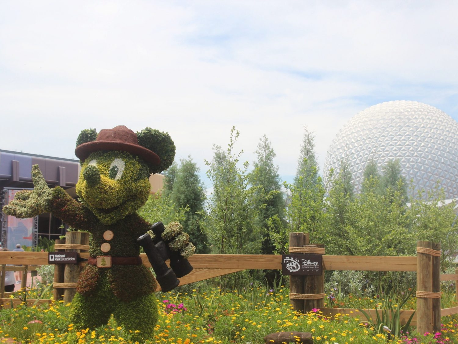 Epcot International Flower and Garden Festival Mickey