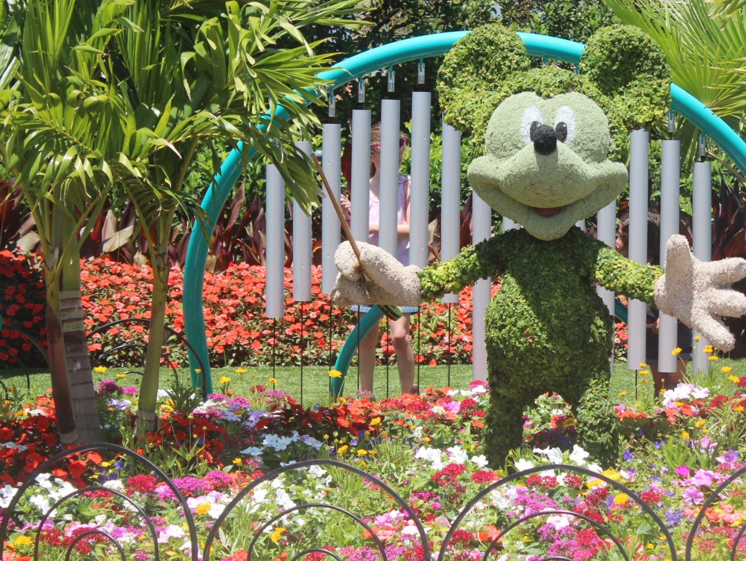 Epcot International Flower and Garden Festival Mickey Mouse