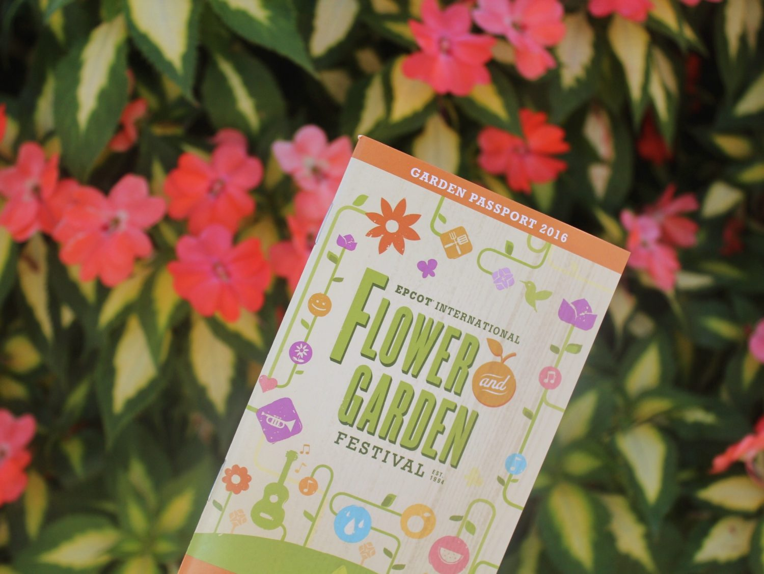 Epcot International Flower and Garden Festival Passport