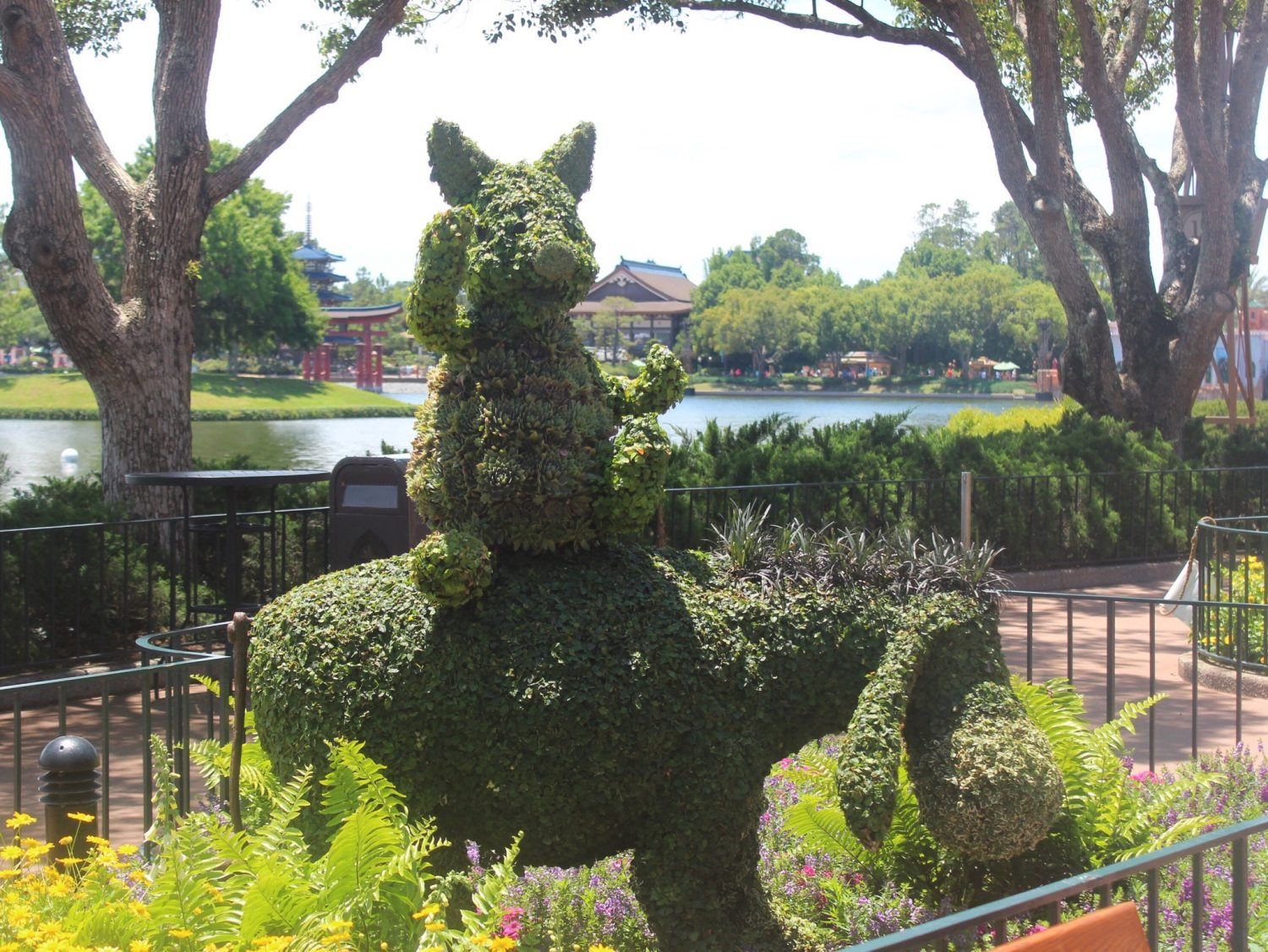Epcot International Flower and Garden Festival Piglet