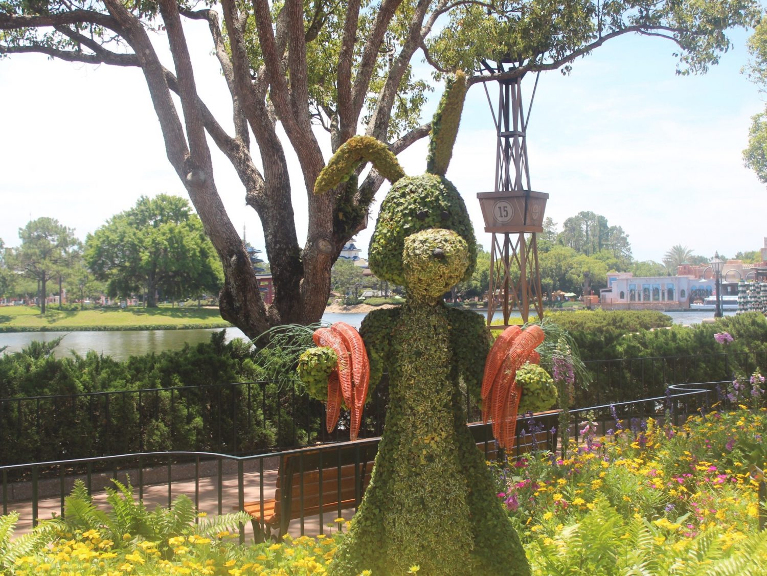 Epcot International Flower and Garden Festival Rabbit