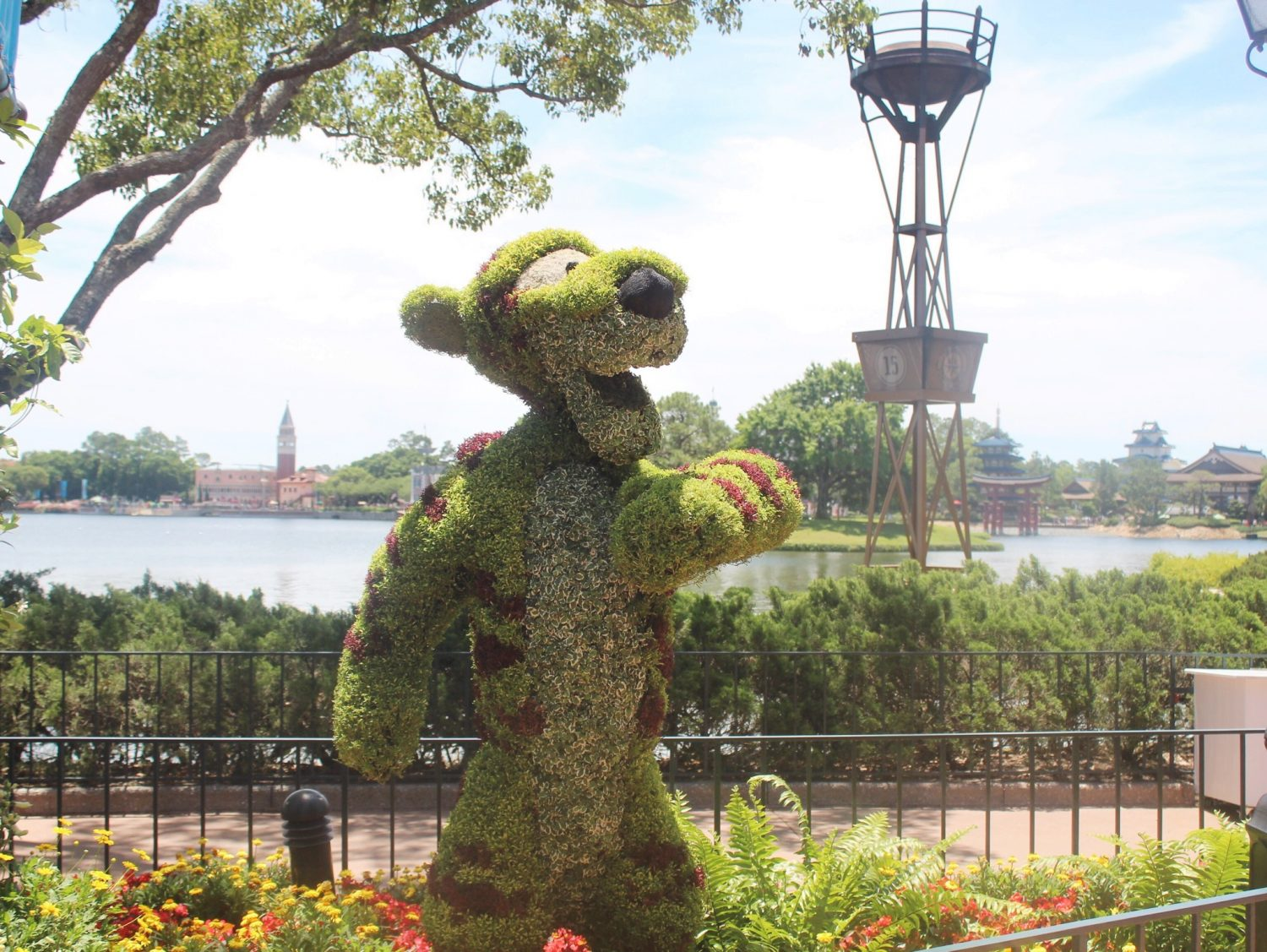 Epcot International Flower and Garden Festival Tigger
