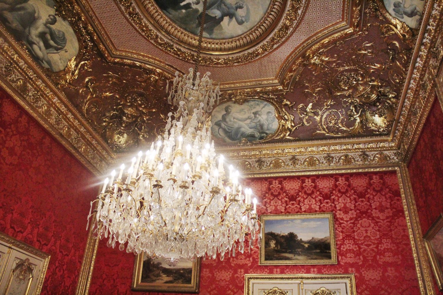 Napoleon III Apartments exhibit