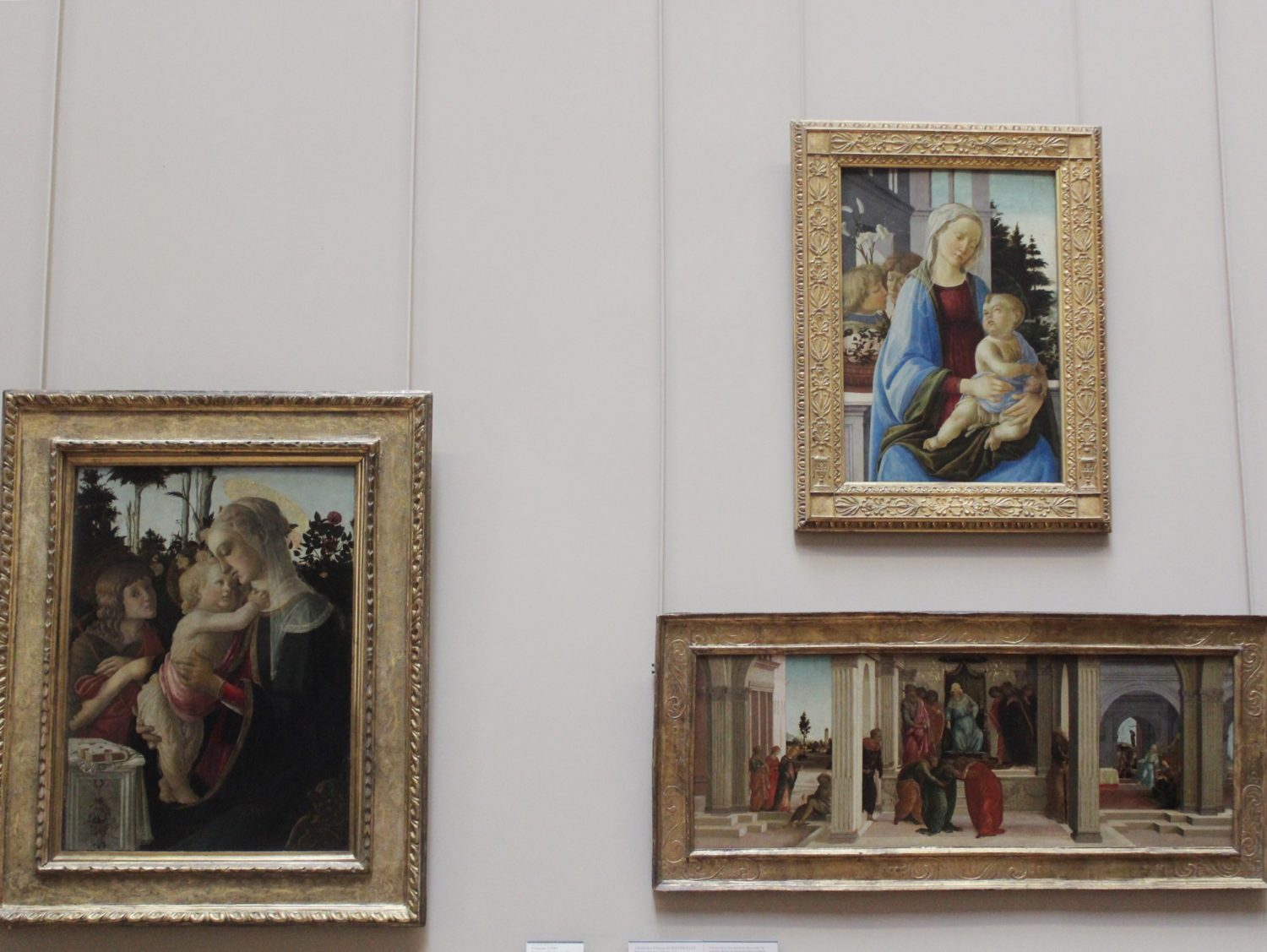 Paintings at The Louvre
