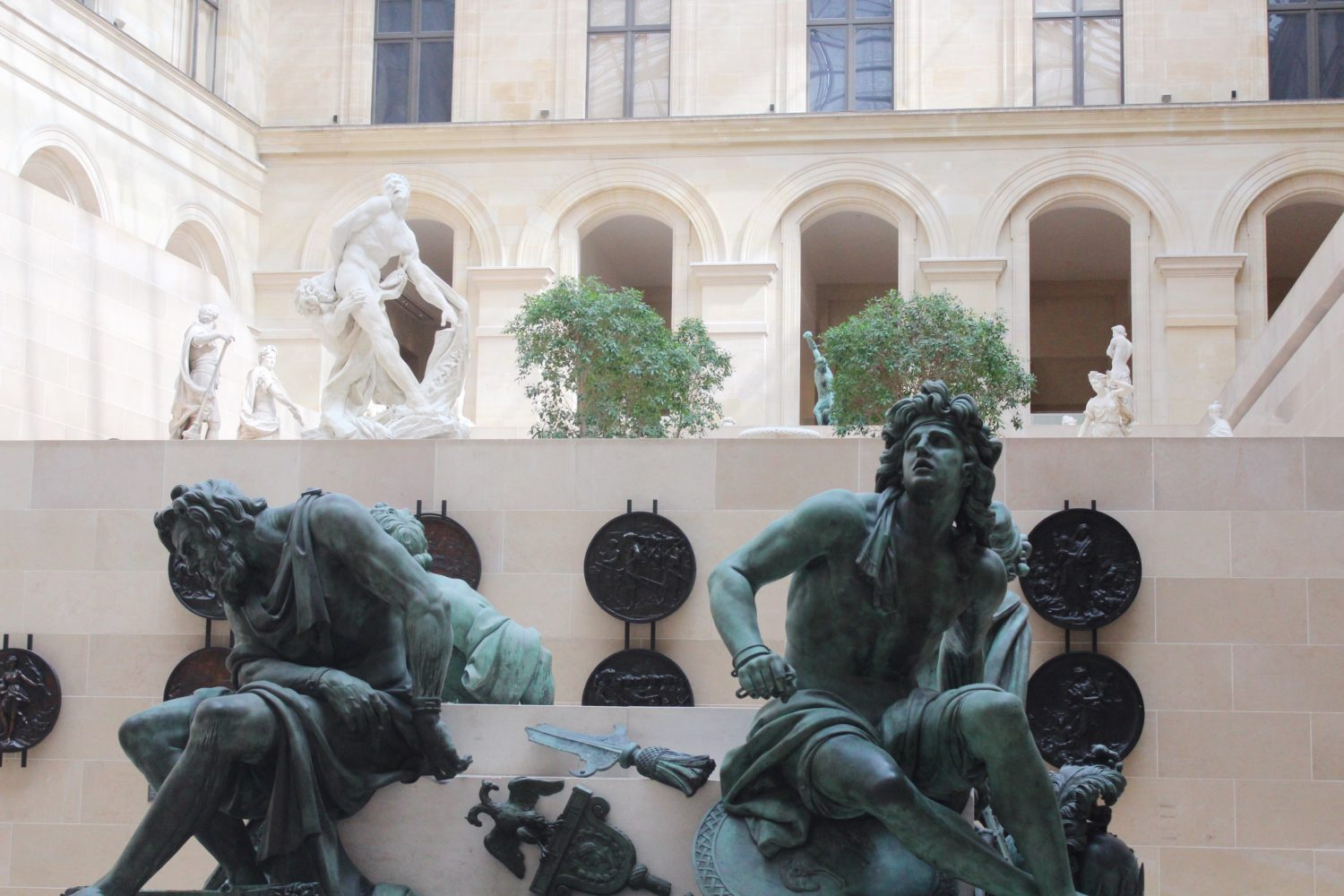 Sculpture Garden at The Louvre