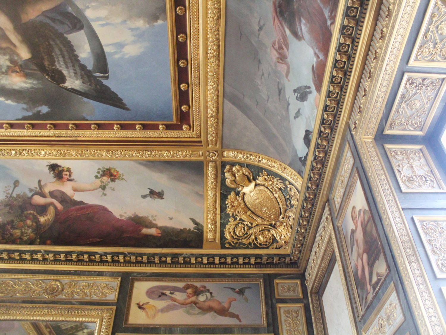 The Ceilings at The Louvre