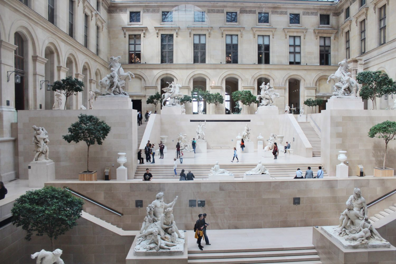 The Louvre Sculpture Garden