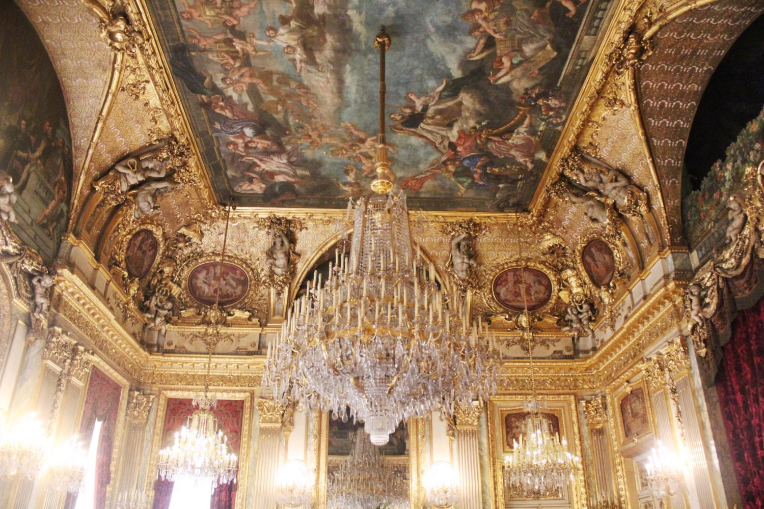 The Napoleon III Apartments at The Louvre