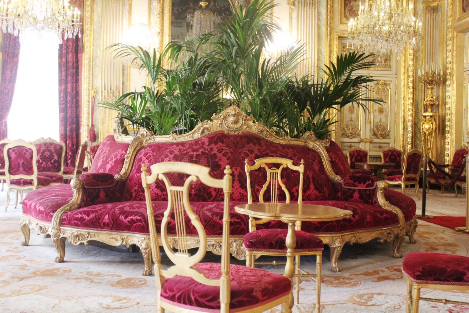 The Napoleon III Apartments in Paris Louvre