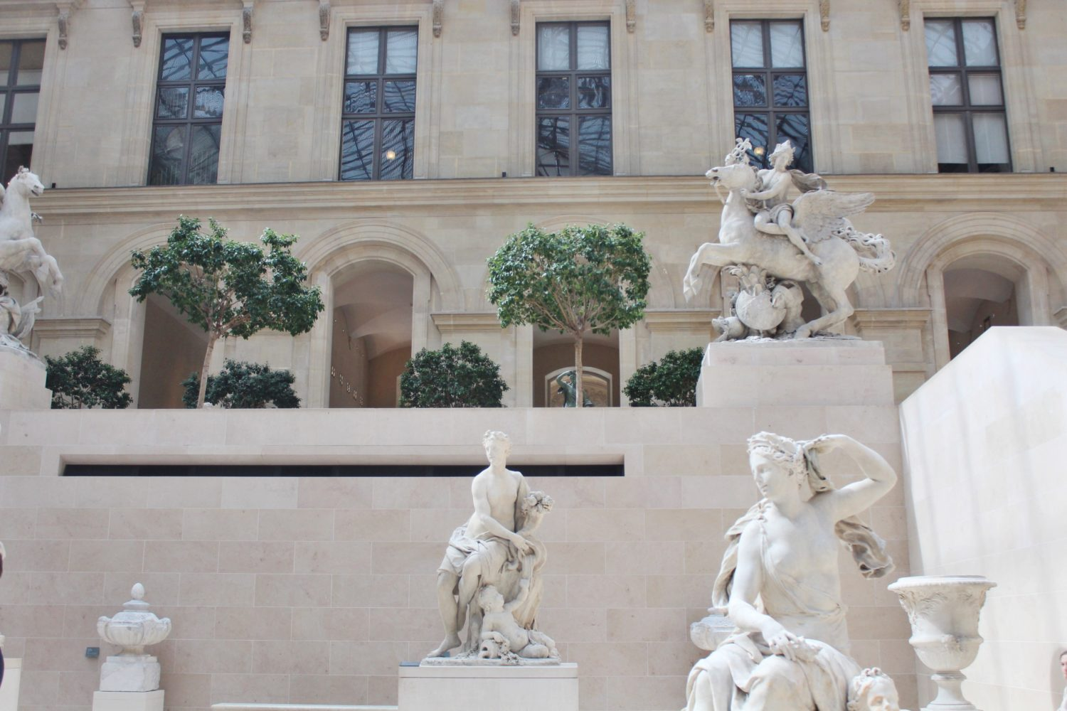 The Sculpture Garden at The Louvre