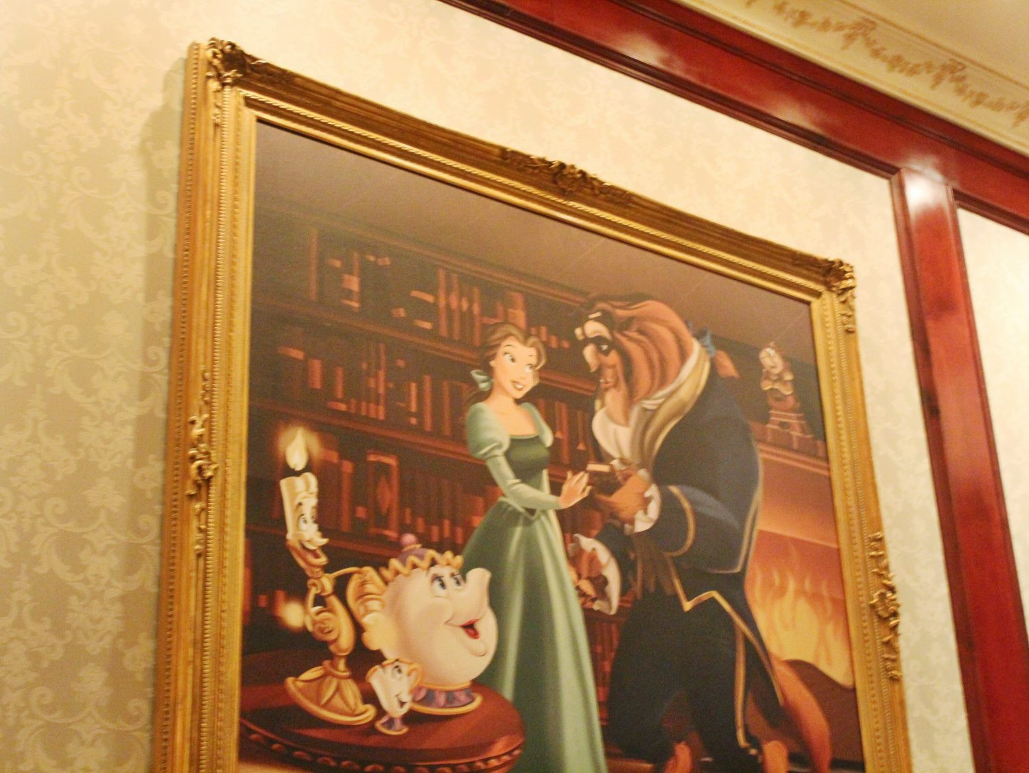 Walt Disney World Be Our Guest Restaurant
