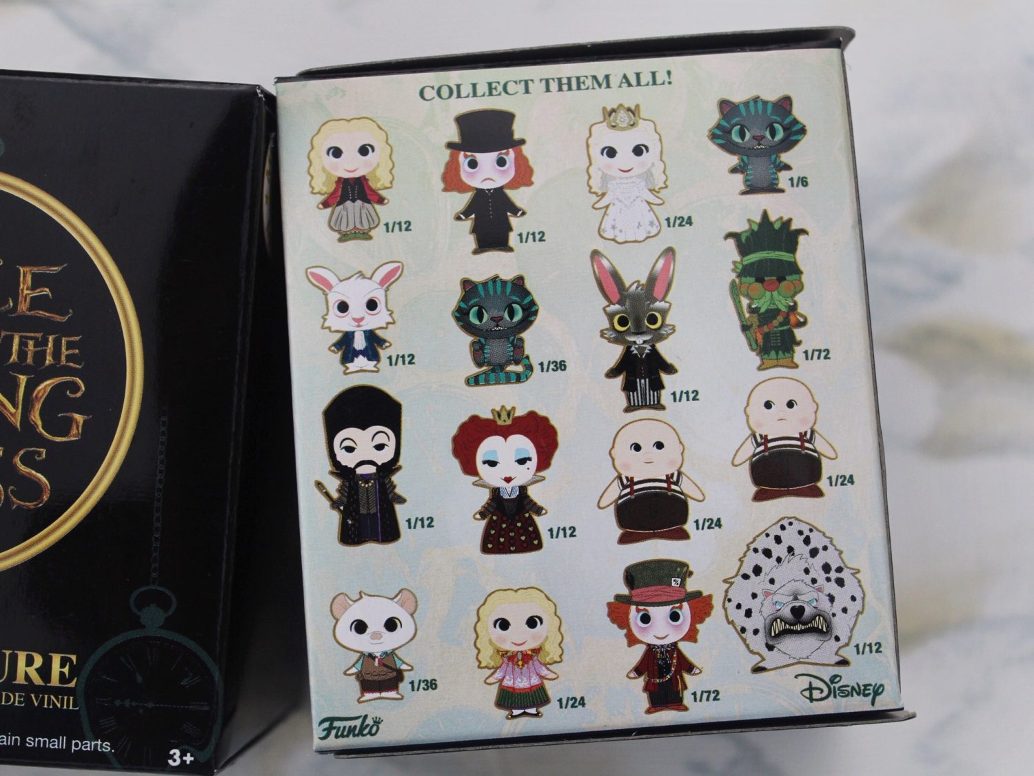 Alice Through the Looking Glass Funko Mystery Minis