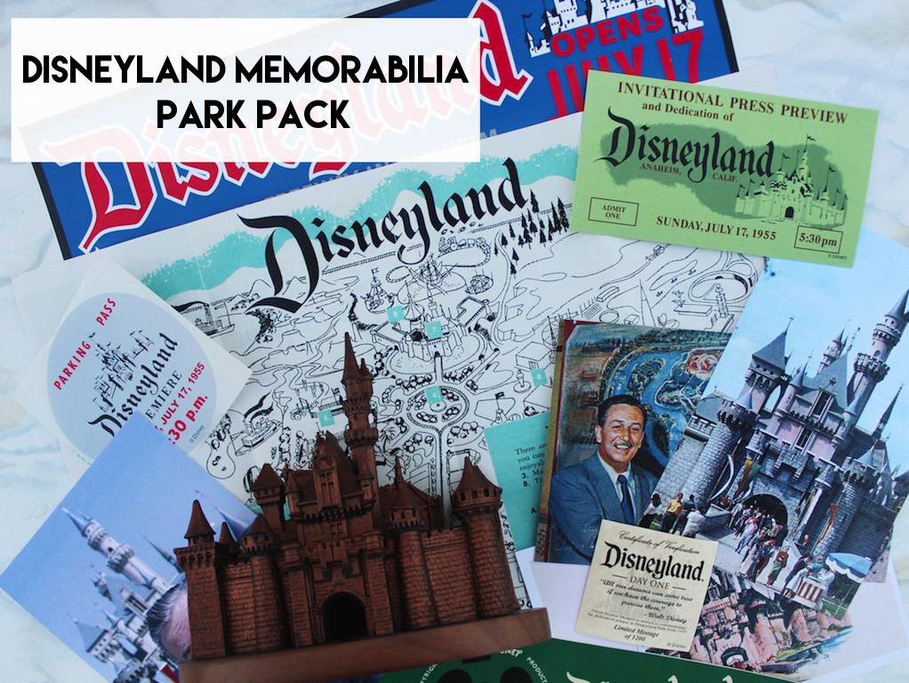Disneyland Memorabilia Park Pack