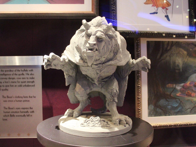 Walt Disney Studios Park Beast Figurine