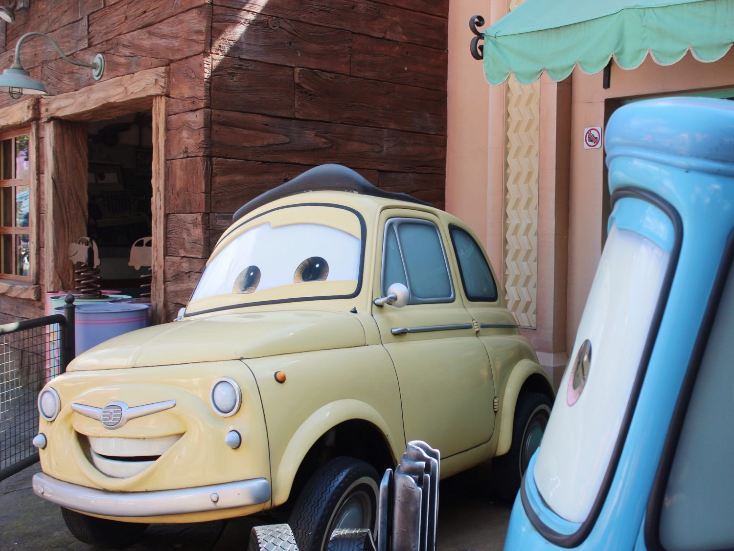 Walt Disney Studios Park Cars Land