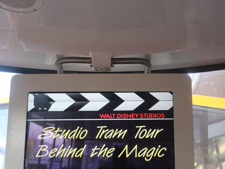 Walt Disney Studios Park Studio Tram Tour