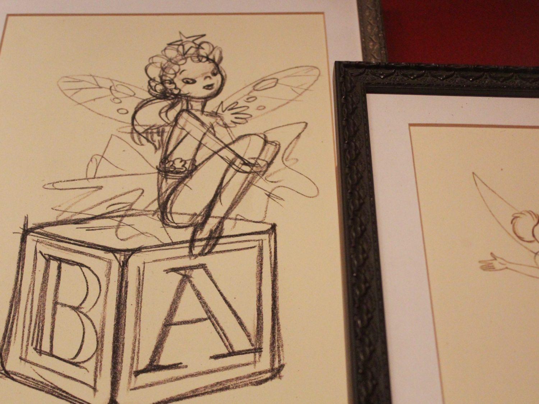 Walt Disney Studios Park Tinker Bell Sketch
