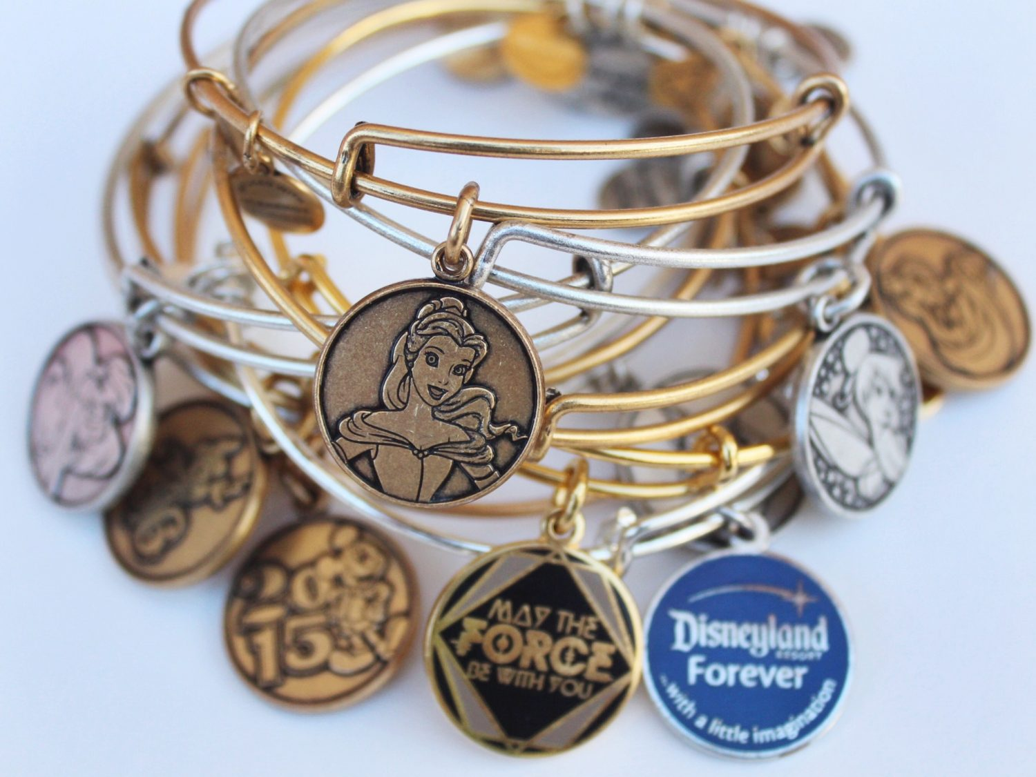 Belle Alex and Ani Disney Bracelet