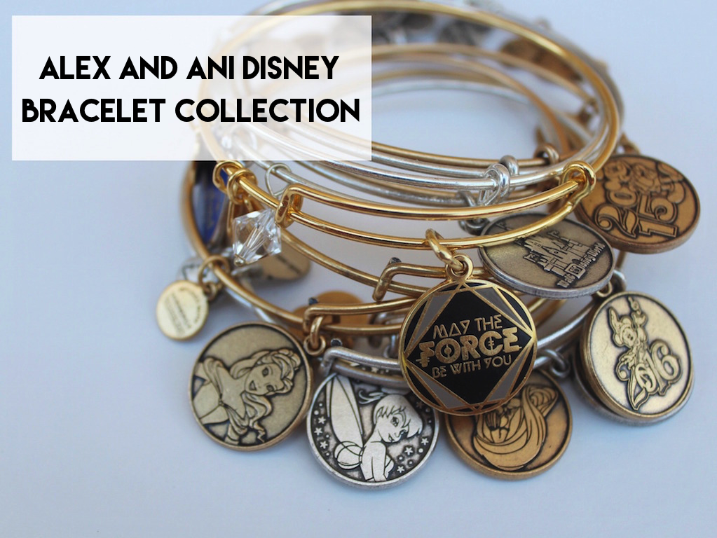 Alex and Ani Disney Bracelet Collection