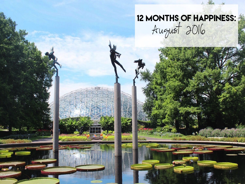 12 Months Of Happiness August 2016 Simply Sinova