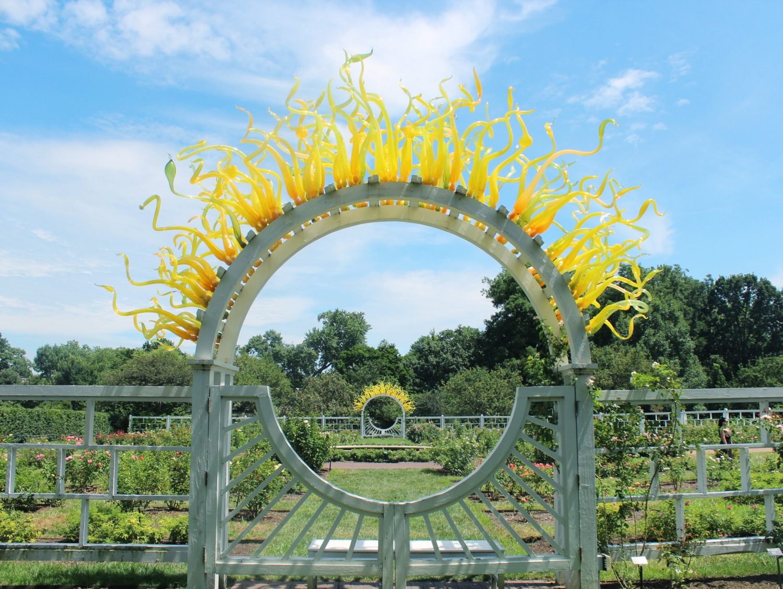 Missouri Botanical Garden chihuly glass