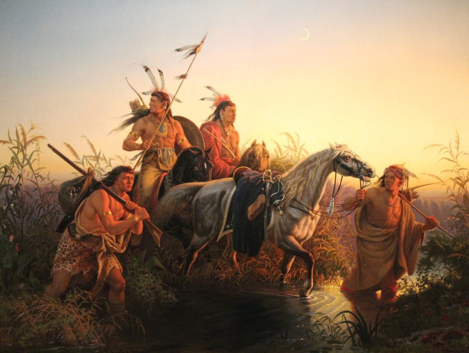 Saint Louis Art Museum Native American Paintings