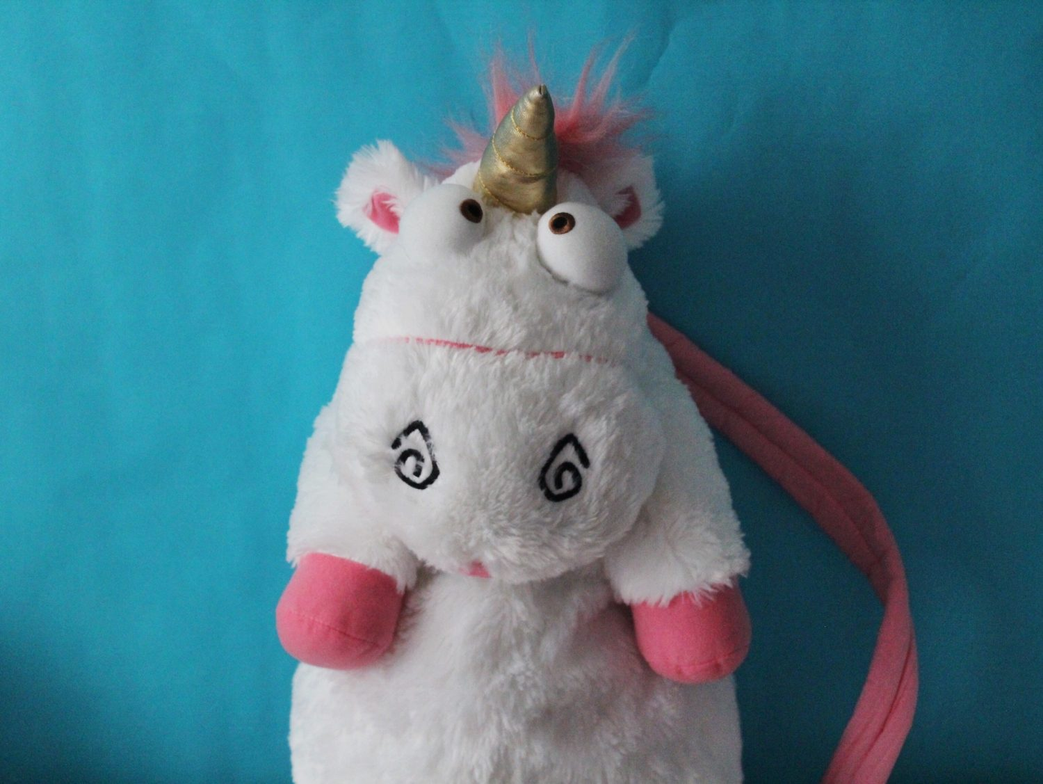 Despicable Me it's so fluffy unicorn backpack