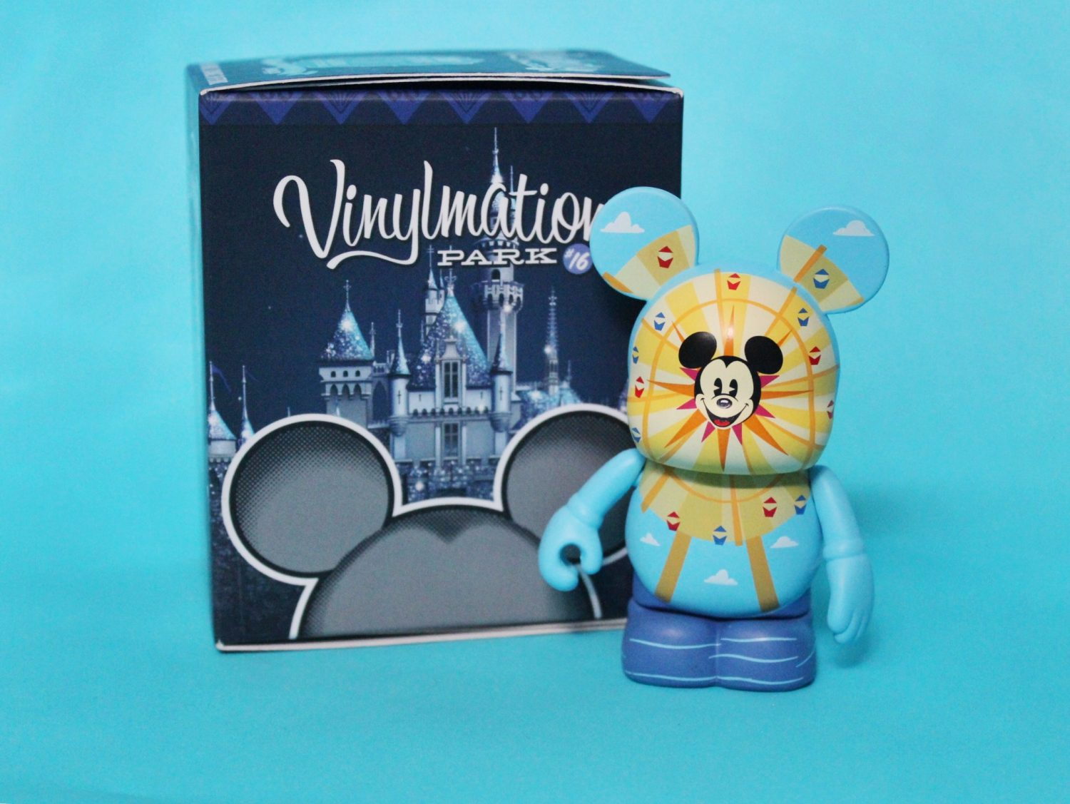 Mickeys fun wheel vinylmation