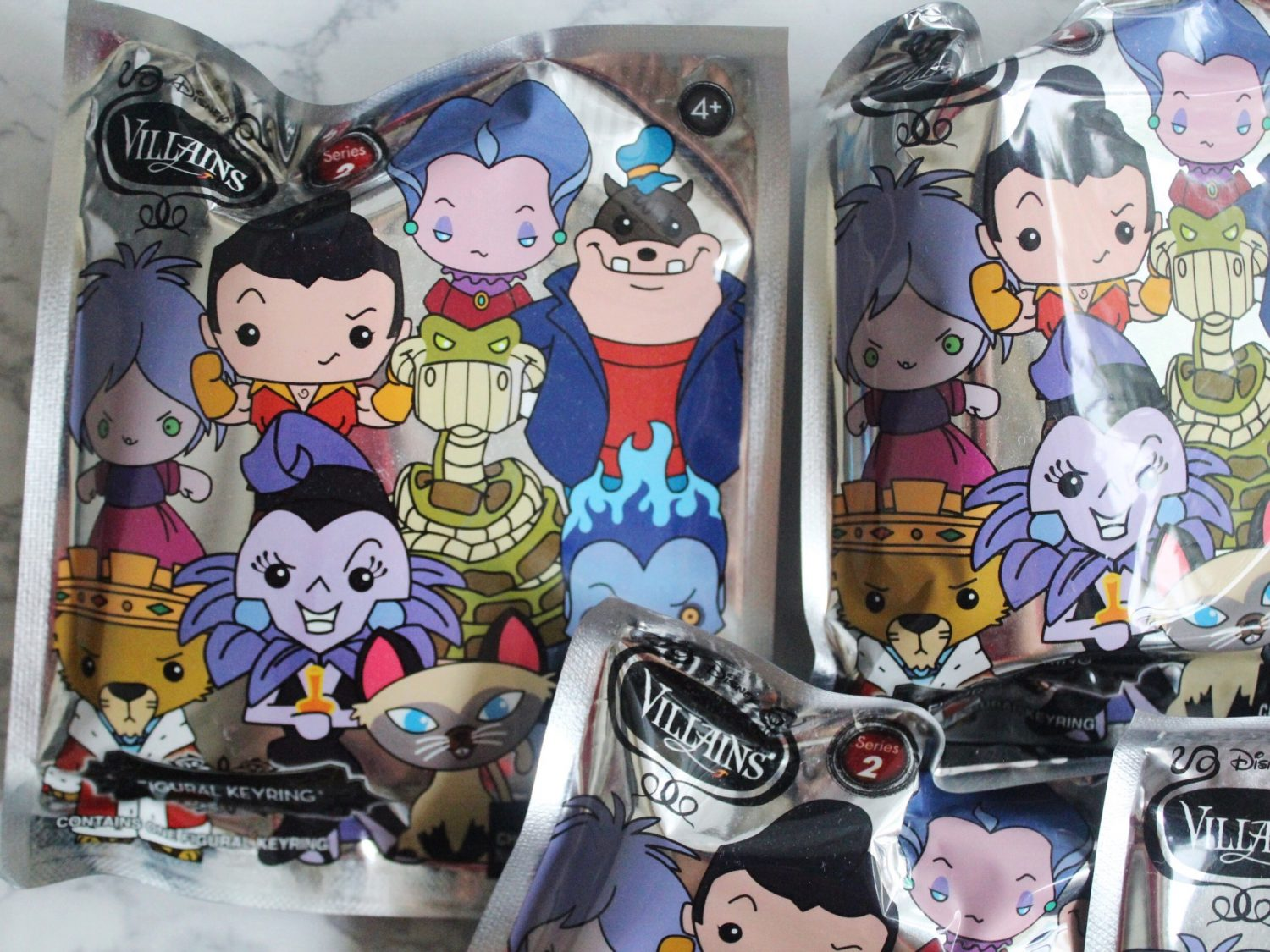 Disney Villains Series 2 Figural Keyrings