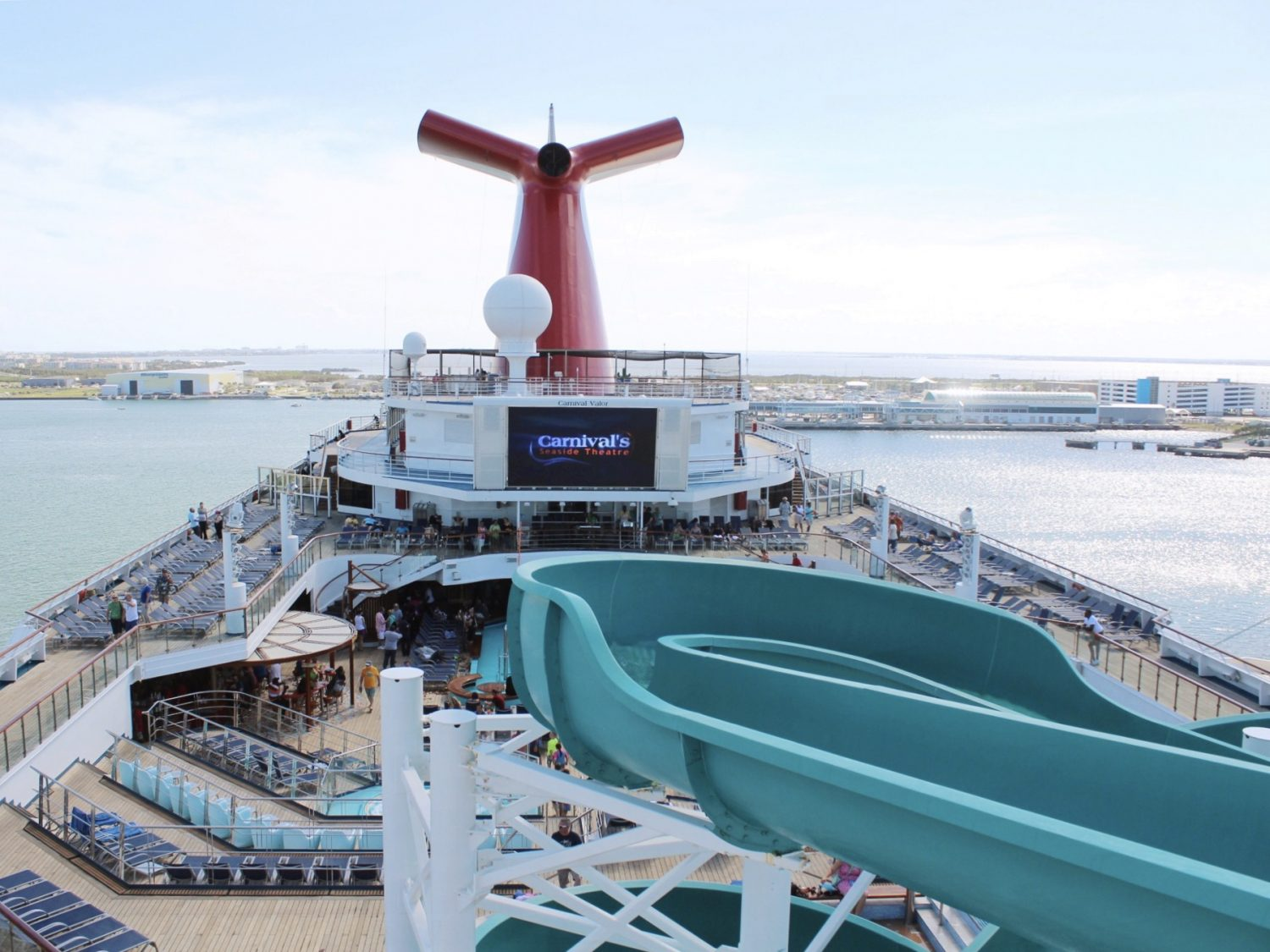 A Tour Of The Carnival Valor Cruise Ship  Balcony