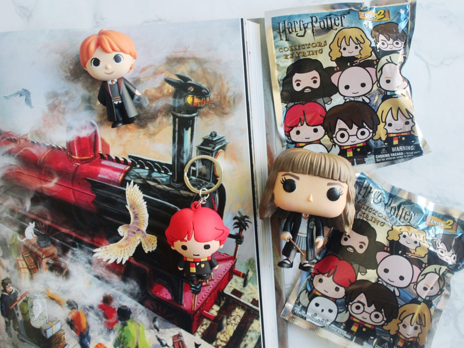 Harry Potter Figural Keyrings
