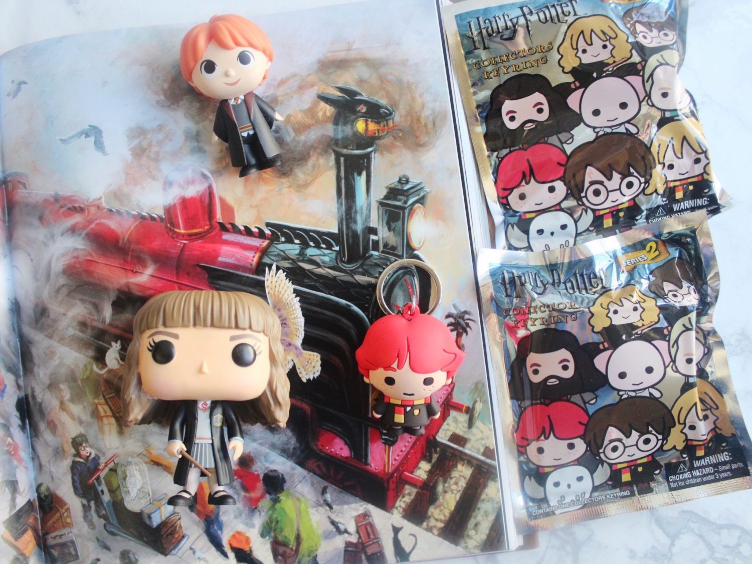 Harry Potter Series 2 Figural Keyrings