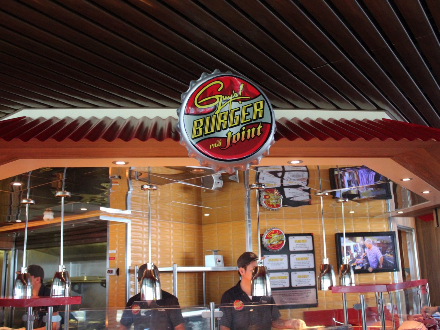 Guy's Burger Joint Carnival Cruise