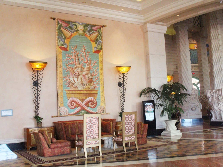 Atlantis Paradise Island Resort Hotel Lobby