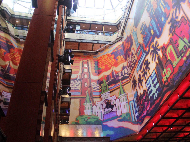 A Tour Of The Carnival Valor Cruise Ship + Balcony