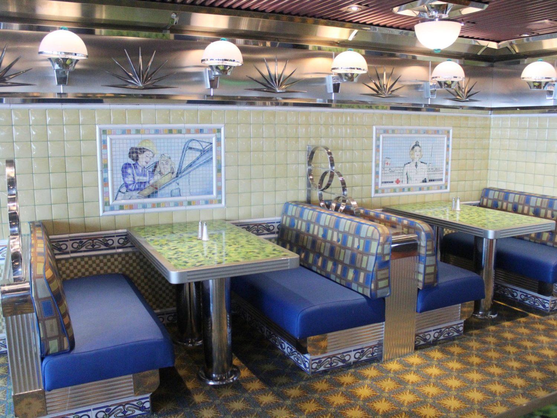 Carnival Valor Rosie's restaurant