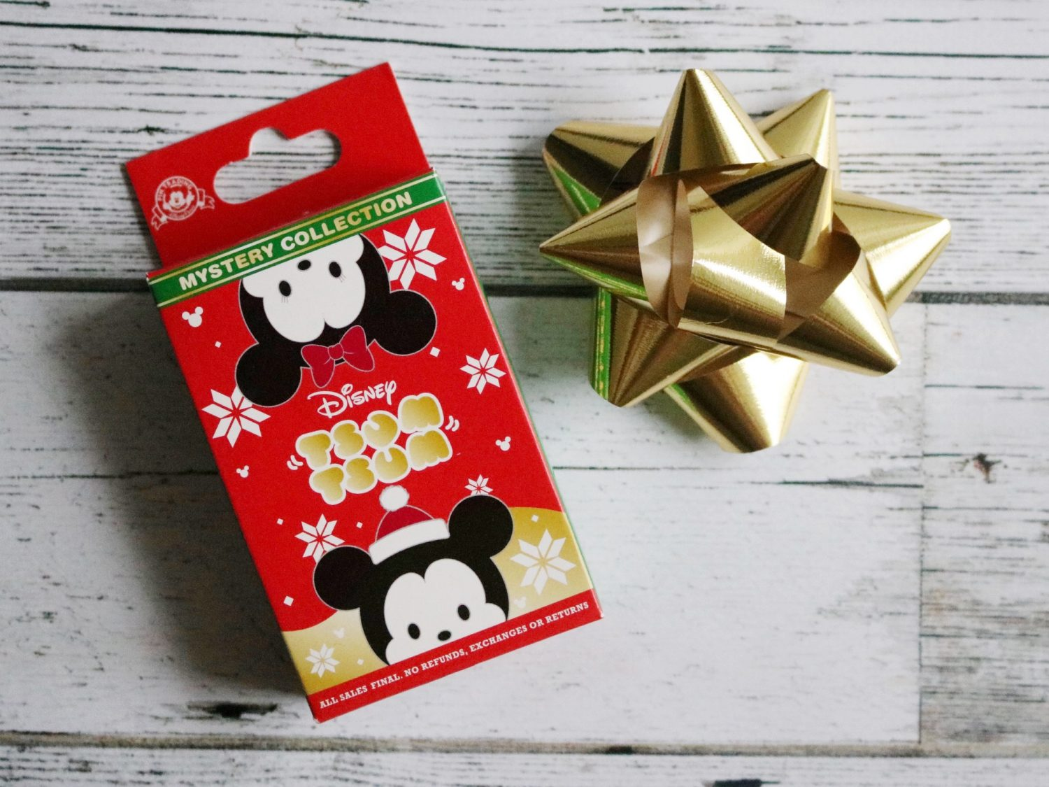 Disney Holiday Mystery Tsum Tsum Pins